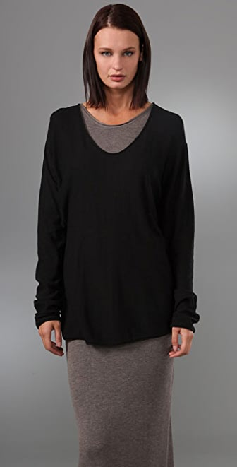 T by Alexander Wang Baggy Long Sleeve Sweater