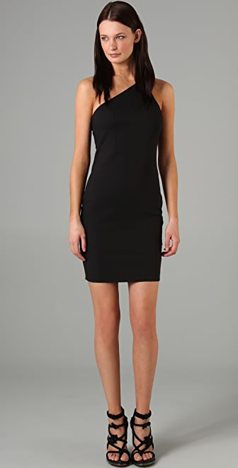 T by Alexander Wang One Shoulder Jersey Dress