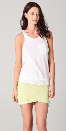T by Alexander Wang Lightweight Roll Trim Tank