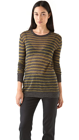 T by Alexander Wang Stripe Knit Pullover
