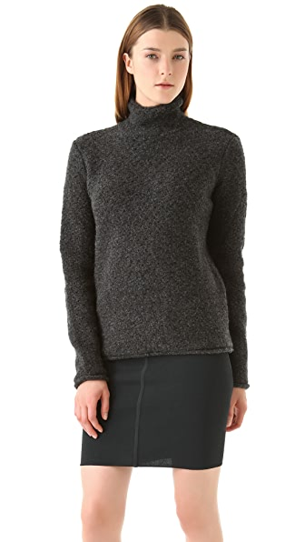T by Alexander Wang Pointelle Lofty Turtleneck