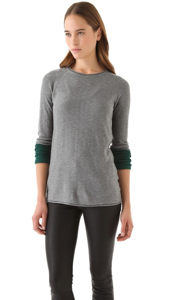 T by Alexander Wang Colorblock Sweater