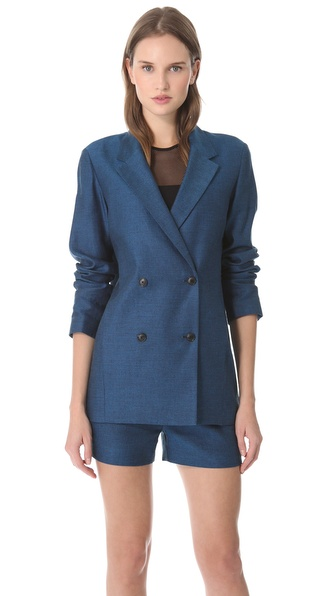 T by Alexander Wang Boxy Blazer