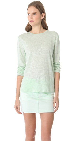 T by Alexander Wang Linen Texture Tee