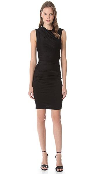 T by Alexander Wang Pique Sleeveless Dress