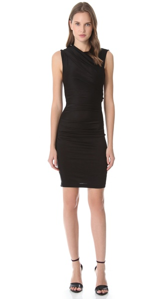 T by Alexander Wang Pique Sleeveless Dress