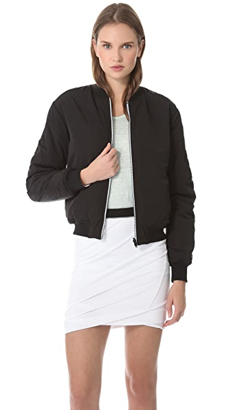 T by Alexander Wang Reversible Bomber Jacket