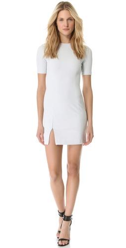 T by Alexander Wang Tech Suiting Sheath Dress