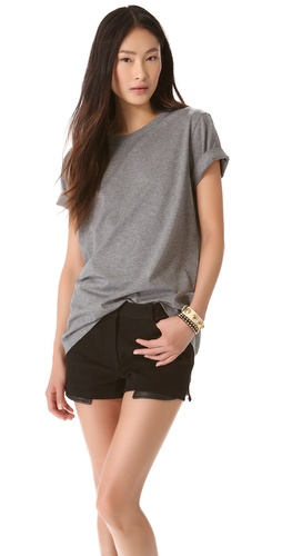 T by Alexander Wang Jersey Crew Neck Tree