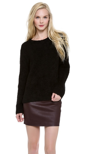 T by Alexander Wang Slubbed Knit Pullover