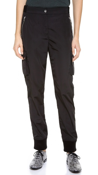 T by Alexander Wang Nylon Track Pants