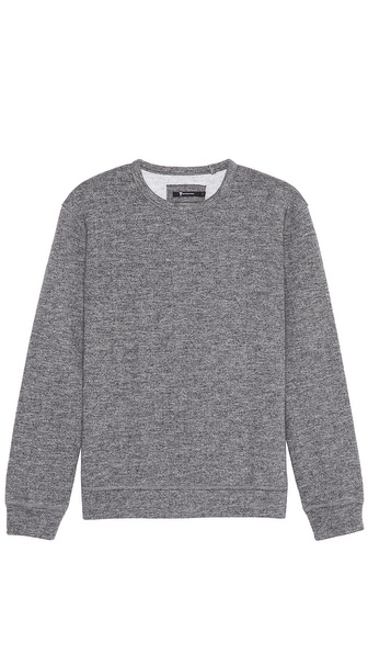 T by Alexander Wang Top Dyed Fleece Sweatshirt