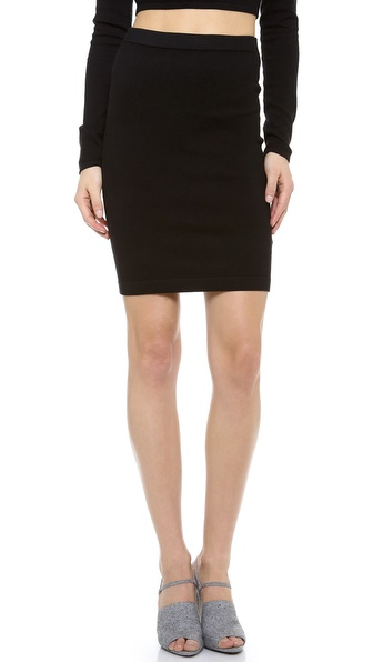 T by Alexander Wang Knit Pencil Skirt