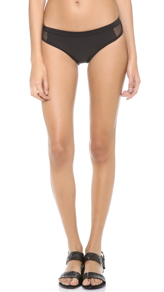 T by Alexander Wang Mesh Combo Bikini Bottoms