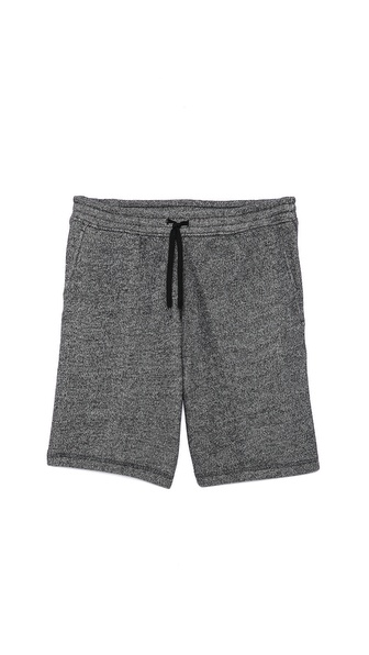 T by Alexander Wang Speckled French Terry Shorts