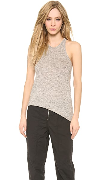 T by Alexander Wang Heathered Classic Tank Top