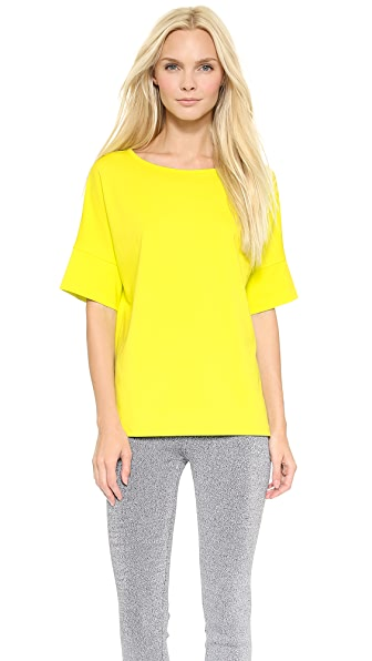 T by Alexander Wang High Density Ponte Dolman Tee