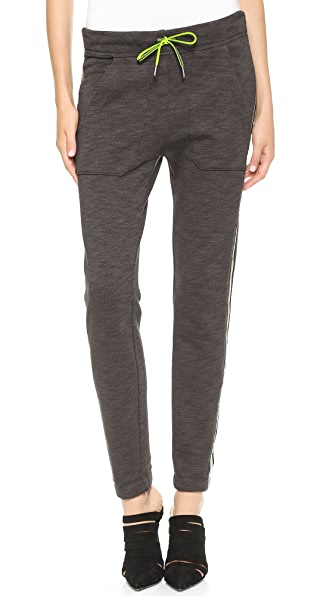 T by Alexander Wang Melange Fleece Sweatpants