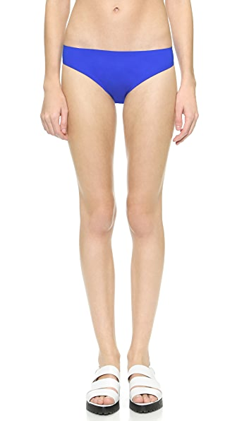 T By Alexander Wang T By Alexander Wang Raw Edge Bikini Bottoms (Blue)