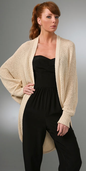 Twelfth St. by Cynthia Vincent Shrug Cardigan