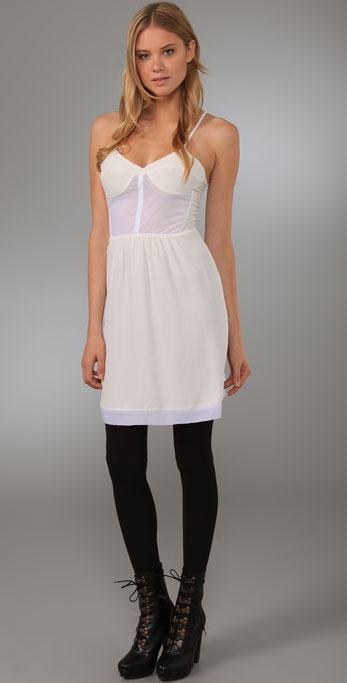 Twelfth St. by Cynthia Vincent Corset Slip Dress