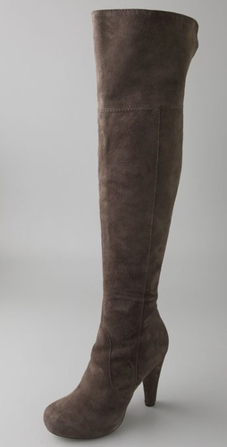 Twelfth St. by Cynthia Vincent Devi Suede Over The Knee Boots