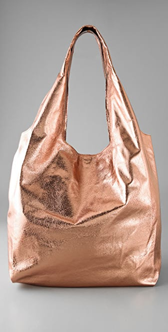 Twelfth St. by Cynthia Vincent Metallic Grocery Bag