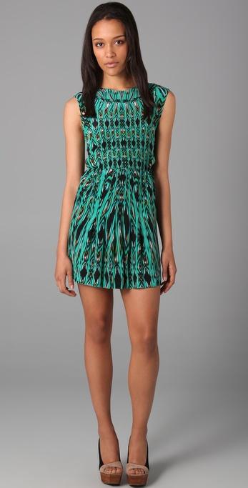 Twelfth St. by Cynthia Vincent Sleeveless Print Dress