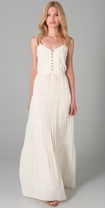 Twelfth St. by Cynthia Vincent Tiered Cami Maxi Dress