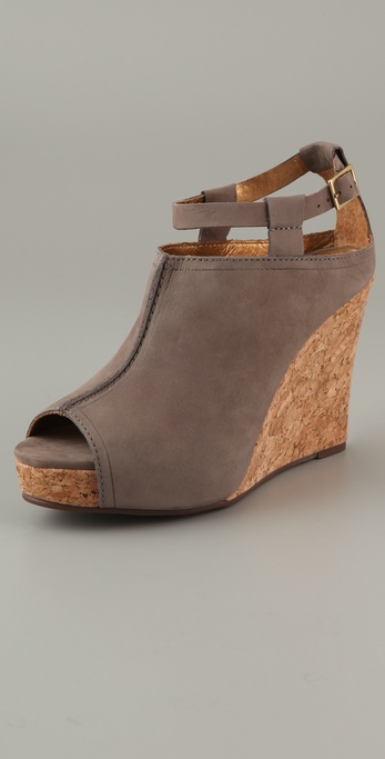 Twelfth St. by Cynthia Vincent Nixon Cork Platform Booties