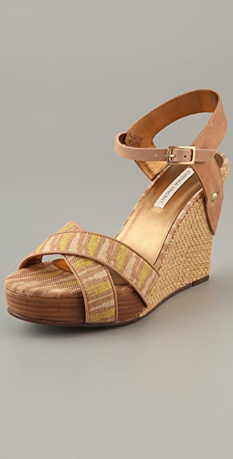 Twelfth St. by Cynthia Vincent Naomi Platform Wedge Sandals