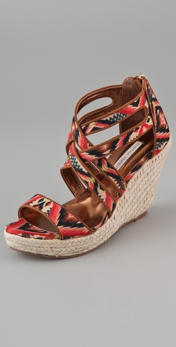Twelfth St. by Cynthia Vincent Juno Wedge Sandals
