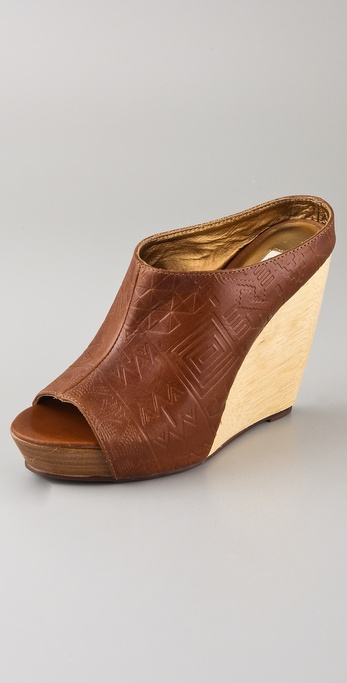 Twelfth St. by Cynthia Vincent Ollie Peep Toe Wedges