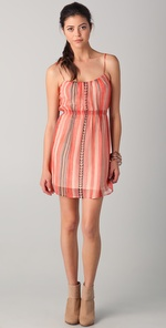 2th Street by Cynthia Vincent Cami Mini Dress with Arrows