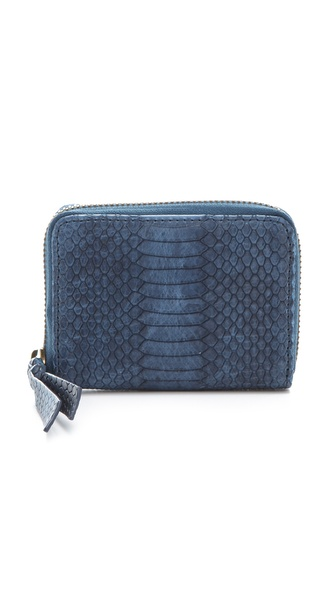 Twelfth St. by Cynthia Vincent Embossed Snake Coin Wallet