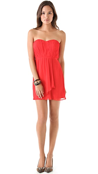 Twelfth St. by Cynthia Vincent Gathered Strapless Dress