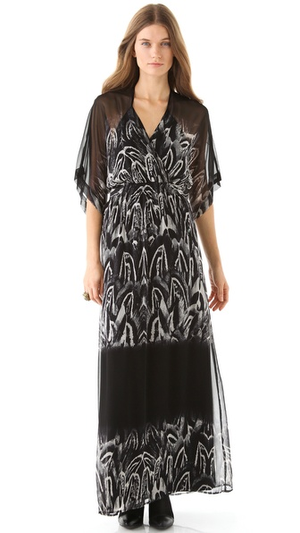 Twelfth St. by Cynthia Vincent Kimono Maxi Dress