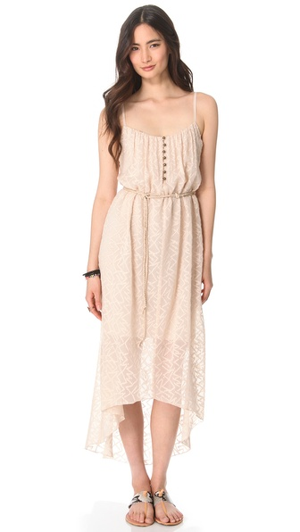 Twelfth St. by Cynthia Vincent Belted High Low Dress