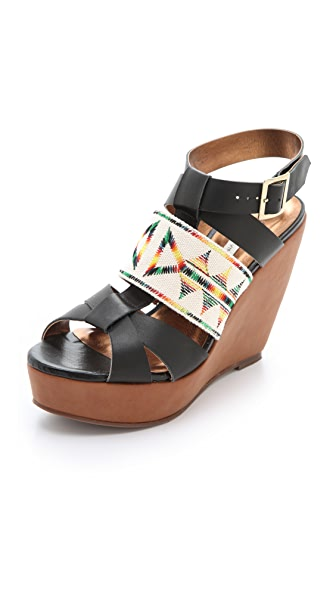 Twelfth St. by Cynthia Vincent Lakota Wedge Sandals
