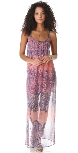 Twelfth St. by Cynthia Vincent Double Strap Maxi Dress