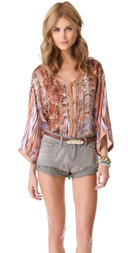 Twelfth St. by Cynthia Vincent Jalaba Blouse