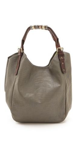 Twelfth St. by Cynthia Vincent Berkeley Embossed Lizard Bag
