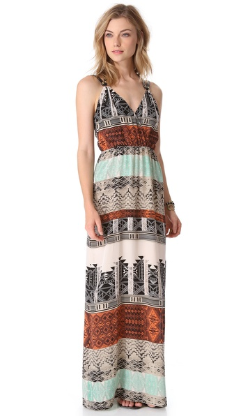 Twelfth St. by Cynthia Vincent Palma Maxi Dress