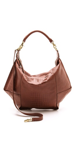 Twelfth St. by Cynthia Vincent Dunnaway Croc Hobo at Shopbop / East Dane