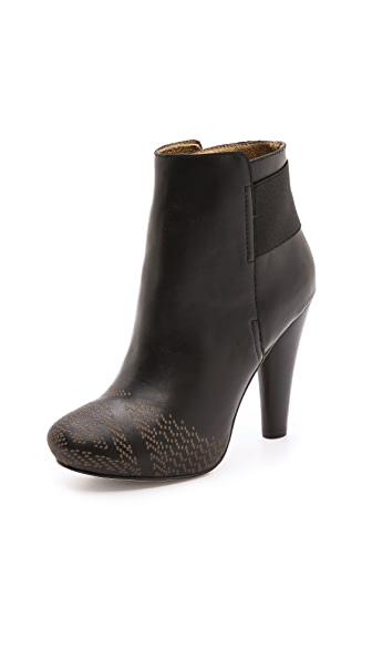 Twelfth St. by Cynthia Vincent Talan Etched Booties