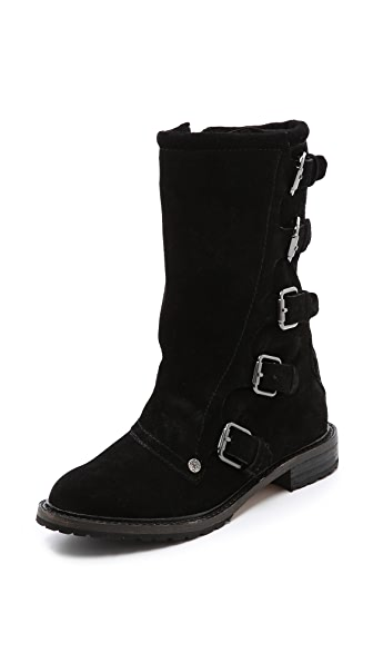 Twelfth St. by Cynthia Vincent Walker Motorcycle Boots