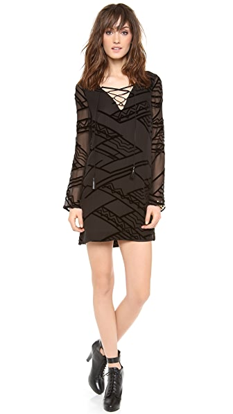 Twelfth St. by Cynthia Vincent Tie Front Shift Dress