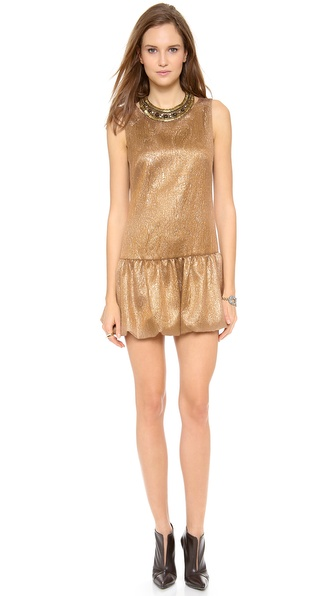 Twelfth St. by Cynthia Vincent Embellished Drop Waist Dress