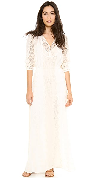 Twelfth St. by Cynthia Vincent Long Sleeve Maxi Dress