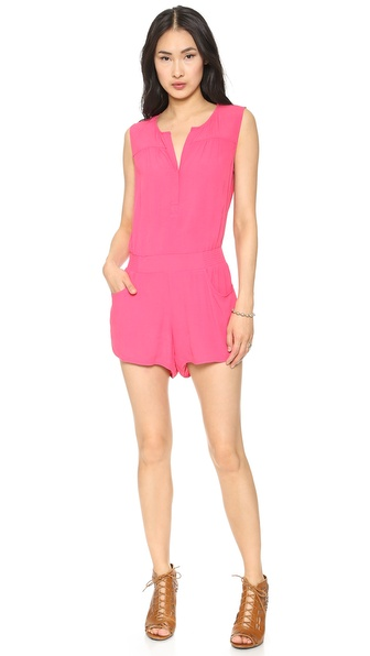 Twelfth St. by Cynthia Vincent Button Back Romper